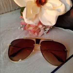 Mesh Wire Round Sunglasses Women Brand new